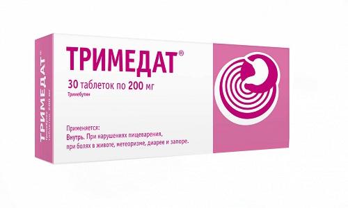 Поскольку в состав Тримедата входят вещества более высокого качества, количество побочных реакций, вызванных этим препаратом, не такое большое