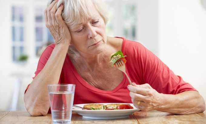 Обострение геморроя может сопровождаться понижением аппетита.