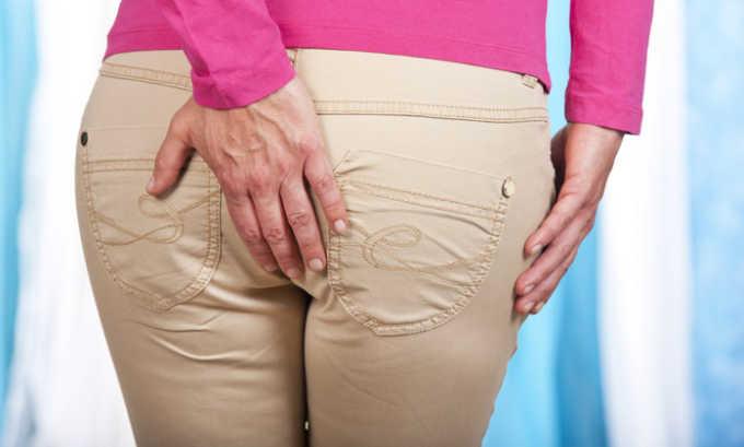 Анальный зуд и жжение могут быть симптомом геморрое