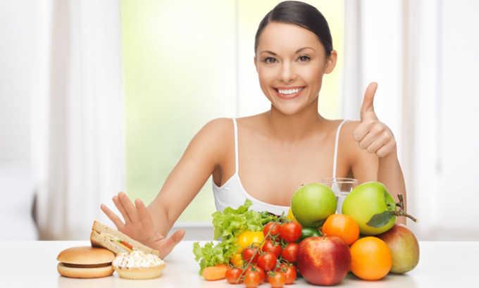 Правильное питание является хорошей профилактикой при геморрое