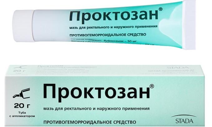 Проктозан оказывает сильное обезболивающее действие даже при тяжелых стадиях геморроя и способствует уменьшению кровотечений