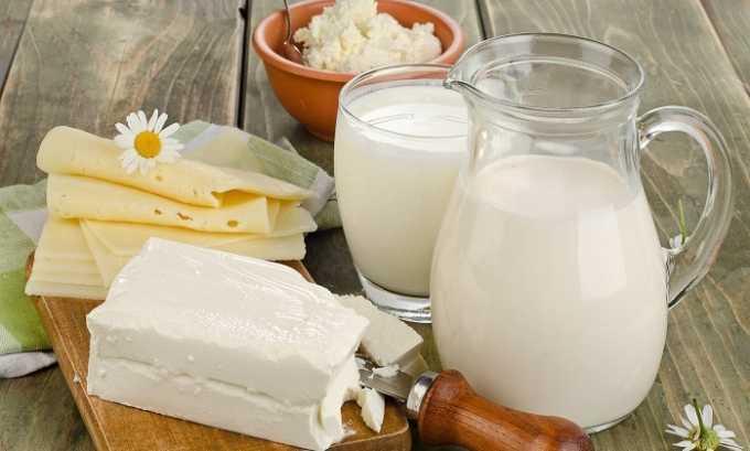 Не окажет отрицательное влияние на работу пищеварительного тракта употребление молока и кисломолочных продуктов