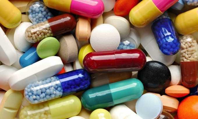 Некоторые эффективные средства для устранения болезни выпускаются в форме таблеток