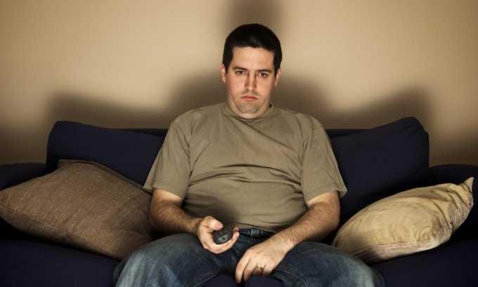 Малоподвижный образ жизни может стать причиной развития болезни