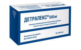 Препарат Флебодиа 600 при геморрое