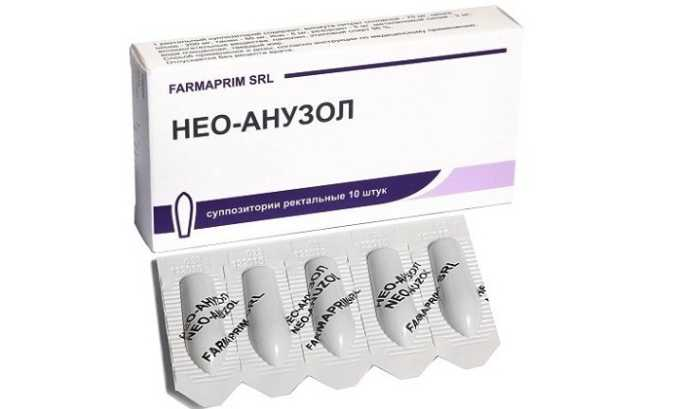 Суппозитории Нео-Анузол оказывают подсушивающее и обезболивающее действие