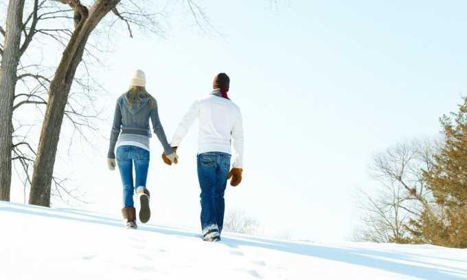 Пешие прогулки полезны для профилактики геморроя