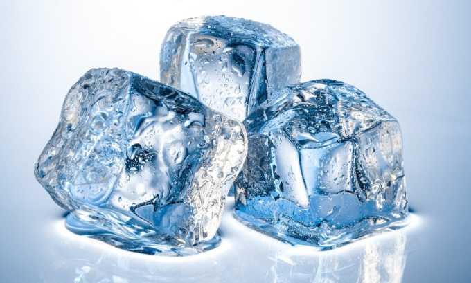 Ледяные свечи помогут снять боль