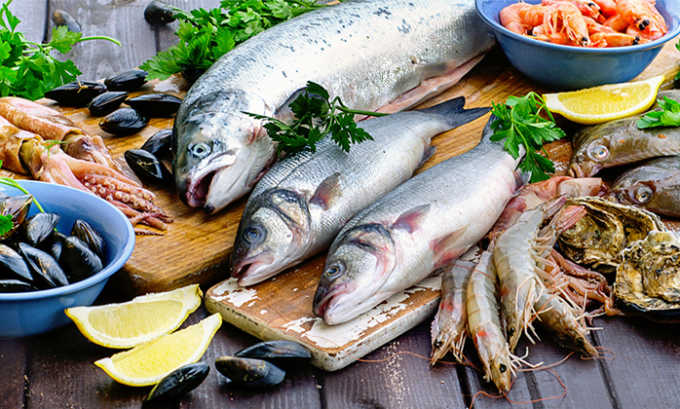 После операции запрещается к употреблению рыба жирных сортов