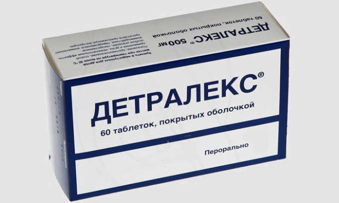 Для снятия сильных болей используют таблетки Детралакс