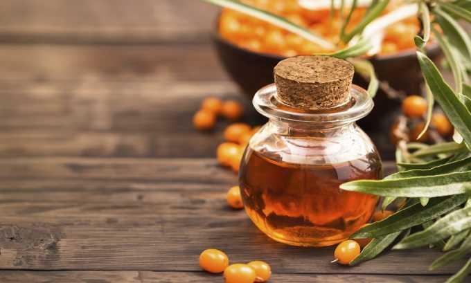 Облепиховое масла - средство стимулирующий перистальтику кишечника