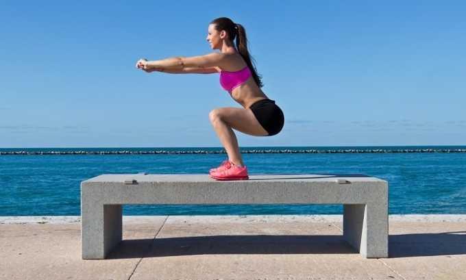 Приседания тонизируют мышцы и улучшают кровоток