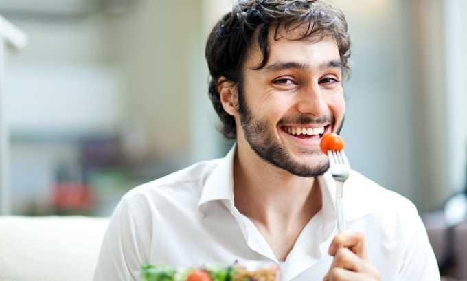 Следует обязательно перейти к правильному питанию