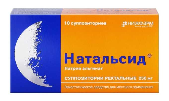 Натальсид используется для лечения геморроя при лактации