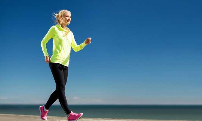 Спортивная ходьба рекомендована в поздний реабилитационный период. Она улучшает кровообращение в малом тазу и самочувствие пациента