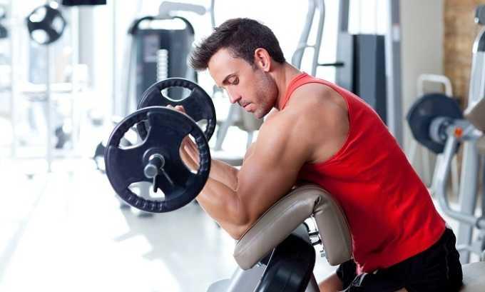 Появление внутренних и внешних шишек может быть спровоцировано повышением физических нагрузок