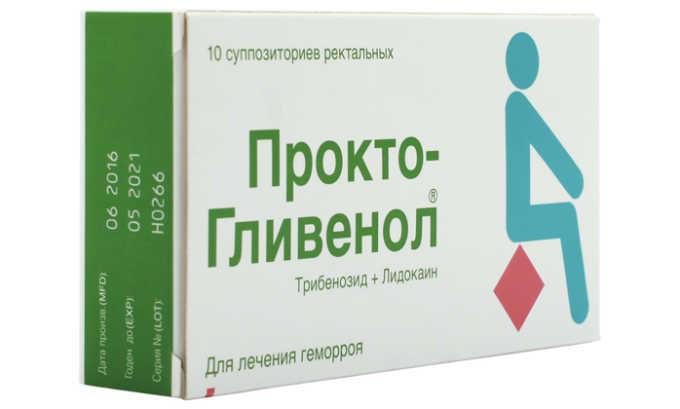 Прокто-Гливенол уменьшает проницаемость капилляров, улучшает ток крови и лимфы, обладает венотонизирующим эффектом