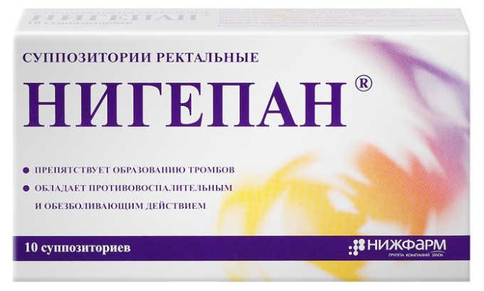 Нигепан эффективно борется с болью и зудом, снимает жжение, оказывает противоэкссудативное действие