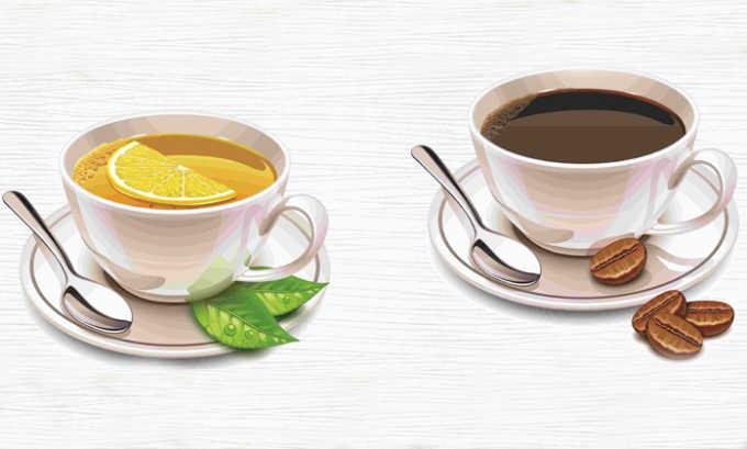 Крепкий кофе и чай запрещено употреблять в пищу после операции