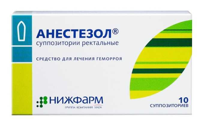 Анестезол выполняет вяжущую, обезболивающую и подсушивающую функции