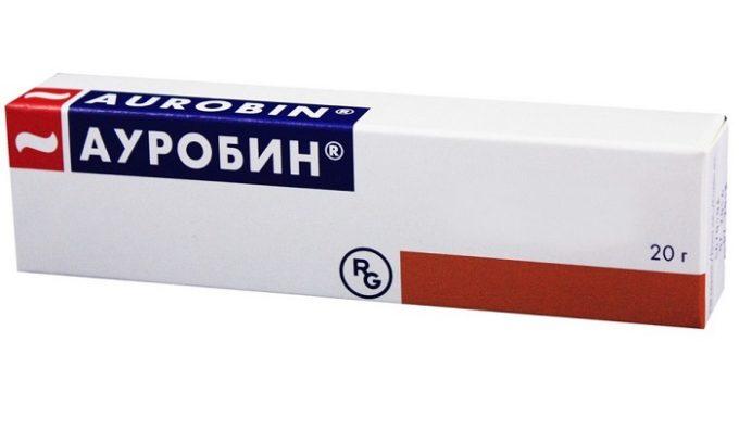 Ауробин от геморроя с лидокаином, преднизолоном и декспантенолом