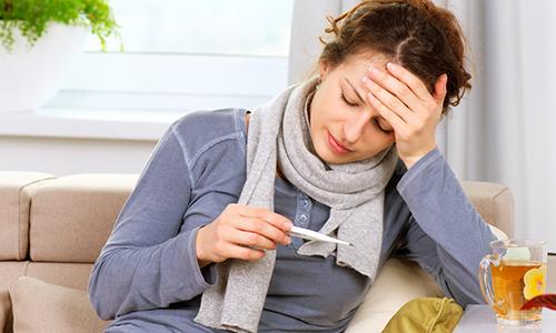 Вправлять узлы в период заболеваний с повышением температуры запрещено