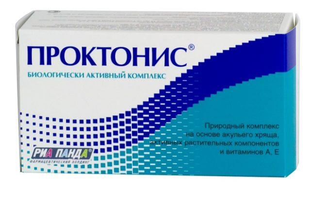 Проктонис купирует воспаление и останавливает кровотечение