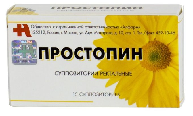 Препарат Простопин содержит прополис, маточное молочко, пергу, мед и обножку, препарат обладает антисептическим и противовоспалительным свойством