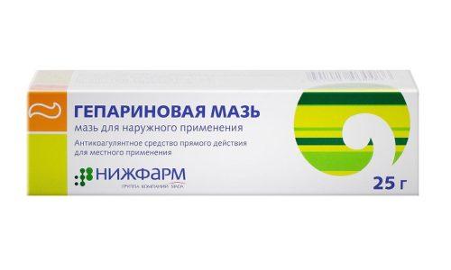Наиболее часто для хронической формы заболевания рекомендуют использовать Гепариновую мазь