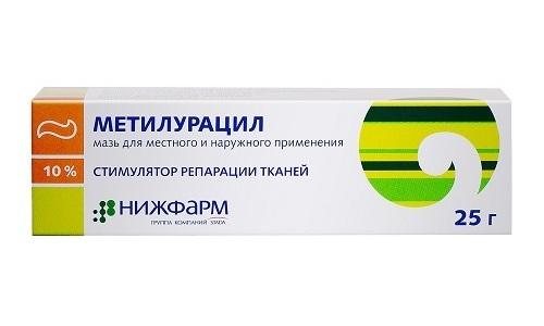 Метилурациловая мазь является недорогим средством от геморроя