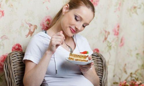 Особое внимание беременная женщина должна уделять питанию, независимо от стадии заболевания
