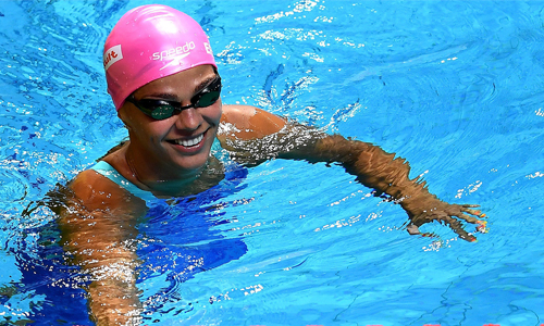 Полезным при наружном геморрое является занятие плаванием