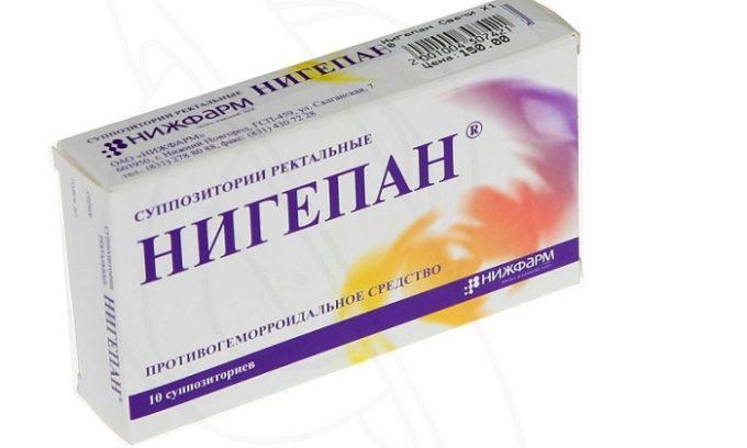 Нигепан препятствует формированию тромбов, бензокаин оказывает сильное обезболивающее действие