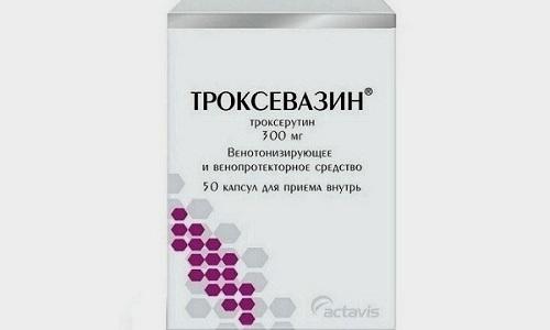 Троксевазин оказывает защитное воздействие на сосуды кровеносной системы