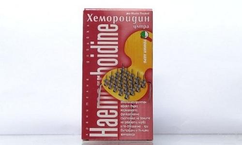 Таблетки Хемороидин уменьшают воспаление и зуд в анальной области
