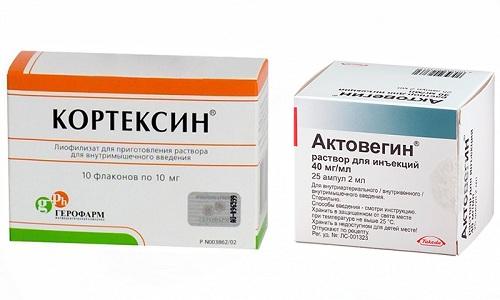 Для лечения кардиологических и неврологических патологий людям часто назначают Кортексин и Актовегин