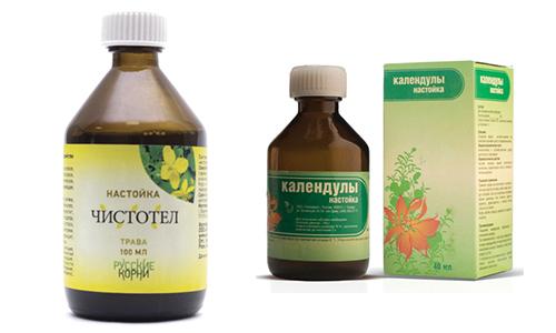 Чистотел и календула - растения, которые популярны в народной медицине и применяются уже не одно столетие в лечебных целях