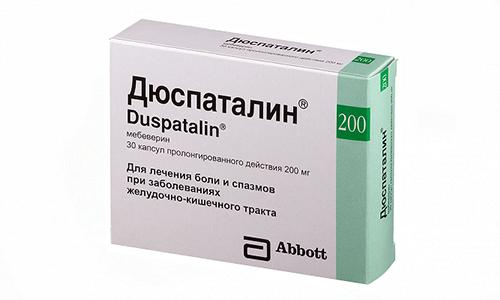 Дюспаталин применяют при запоре и поносе, включают в состав курса лечения язвы желудка и двенадцатиперстной кишки