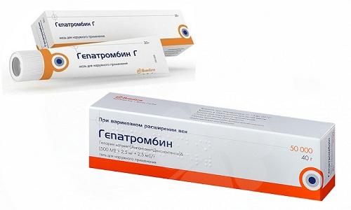 Терапия варикоза и геморроя предполагает использование Гепатромбина или Гепатромбина Г