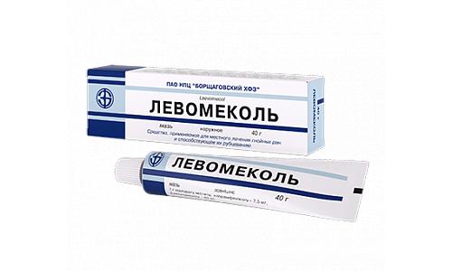 Применение препарата Левомеколь запрещено при гиперчувствительности к хлорамфениколу и другим компонентам