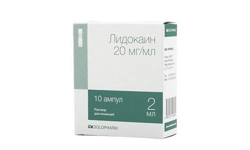 Лидокаин характеризуется антиаритмическим свойством, эффективно обезболивает ткани, неплохо взаимодействует с другими анестетиками
